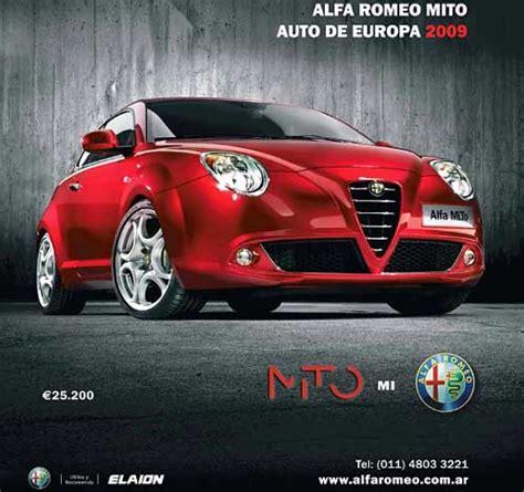 Alfa Romeo Argentina by Argentina El Alfa Romeo Mito Ya Est 225 A La Venta A 25 200