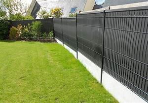 Lames Pvc Pour Cloture : 5 id es pour cl turer votre jardin natilia avignon ~ Melissatoandfro.com Idées de Décoration