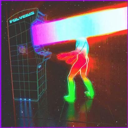 Vaporwave Trippy Aesthetic Neon Psychedelic Dualvoidanima Surreal