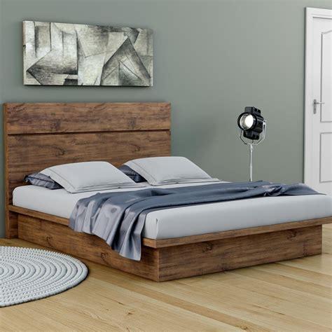 cama de casal xcm queen tw em mdf baixa