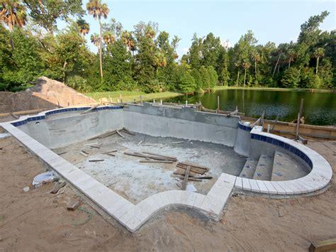 Schwimmbad Selber Bauen pool selber bauen swimmingpool im garten bauen de