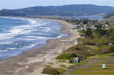 Stinson Beach Famous Stinson Beach At The Bay Area Of San