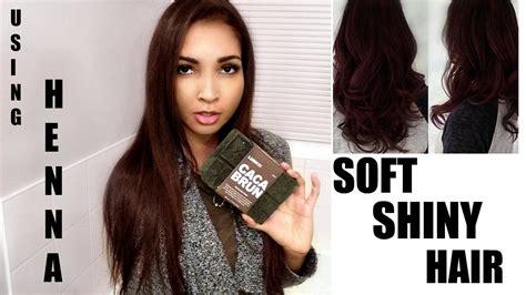 Lush Henna Dye Review Does It Work On Dark Hair Youtube