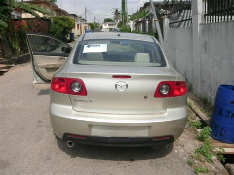 2005 Mazda 3i by Tokunbo 2005 Mazda 3i Sold Autos Nigeria