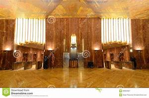 Chrysler Building Lobby Editorial Photography - Image ...