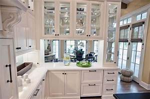 kitchen kitchen colors with white cabinets and white With kitchen colors with white cabinets with art deco round wall mirror