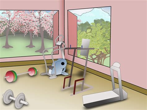 How To Decorate Your Home Gym 6 Steps (with Pictures