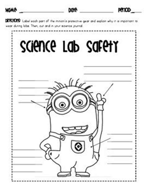 Science Lab Safety Lesson Plans  Science Safety Lesson Plans 3rd Grade Symbols Middle School