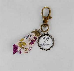 porte cle quotmerci maitrequot cabochon retro vintage 6 vintage With porte clef bijoux