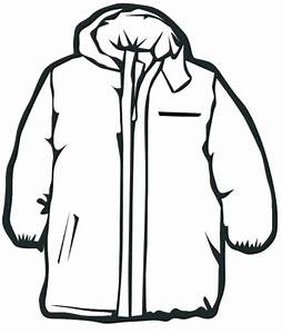 Hood clipart winter coat - Pencil and in color hood ...
