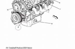 Where Is The Crankshaft Position Sensor Located On A 2005