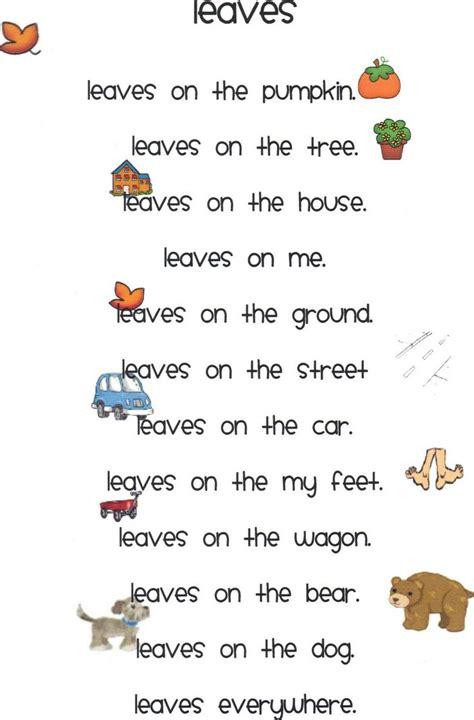 best 25 poems ideas on 720 | 70d682adb4efcf58f3809b5b3dd24429 fall poems kindergarten poetry