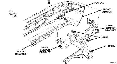 2000 dodge dakota fog light bracket how to install replacement bumper on 1997 2000 dodge dakota