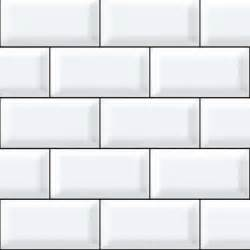 ceramic subway tile kitchen backsplash diamondback white tiles with black grout printed