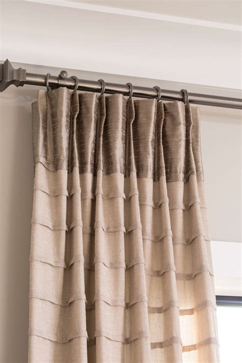 custom pleated drapes design trend custom pleated drapes for your window