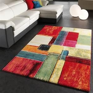 Teppich Kaufen Online : teppich modern splash designer teppich bunt karo model neu ovp wohn und schlafbereich designer ~ Frokenaadalensverden.com Haus und Dekorationen