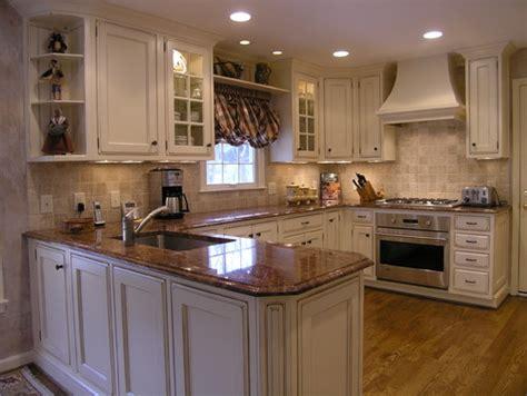 white kitchen countertops with brown cabinets brown granite countertop travertine backsplash ideas 2096