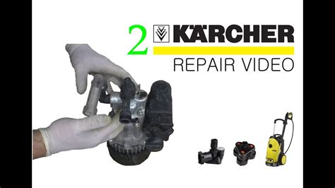 how to fix a karcher pressure washer part 2
