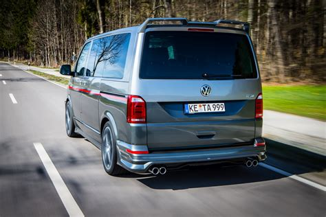 vw t6 abt abt s vw t6 special blows the candles on two cakes carscoops