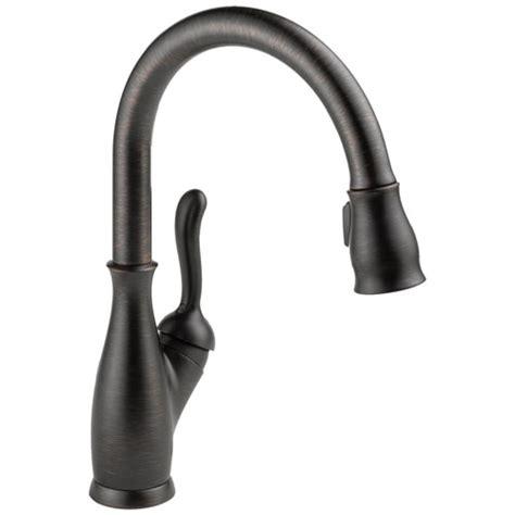 Delta Leland Bathroom Faucet Bronze by Delta 9178 Rb Dst Leland Single Handle Pull Kitchen