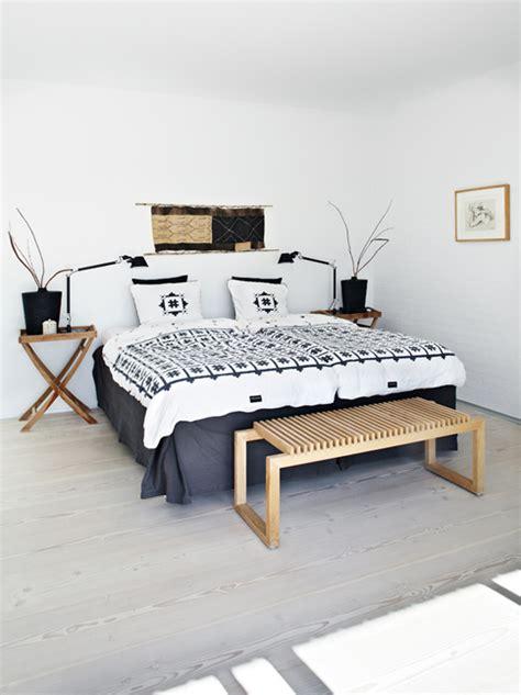 chambre style ethnique décoration style ethnique inspiration scandinave