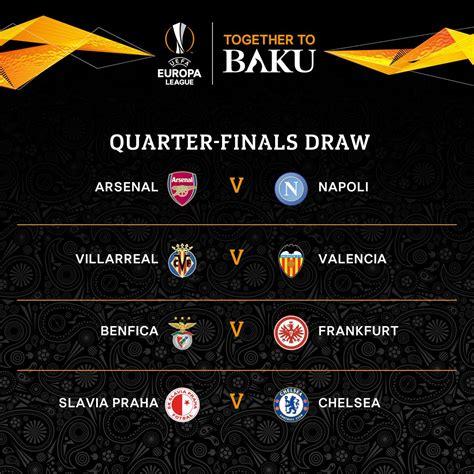 UEFA releases the Europa League Quarter and Semi Final ...