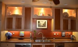 kitchen glass cabinet lighting recessed lighting for kitchen remodel total lighting blog