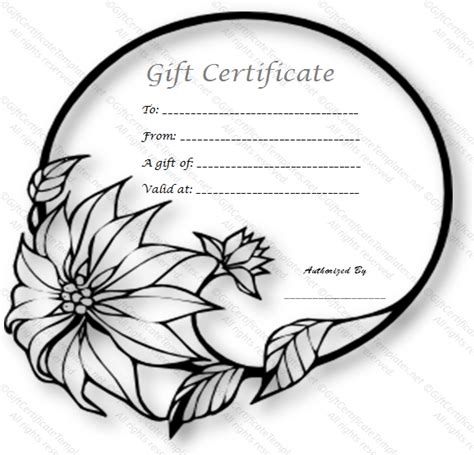 black and white gift certificate template free wedding ring gift certificate template free gift cards