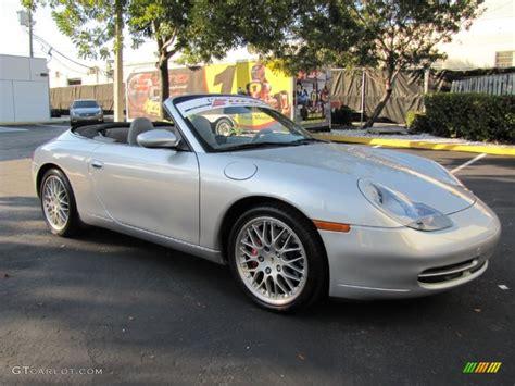 silver porsche carrera arctic silver metallic 2000 porsche 911 carrera 4