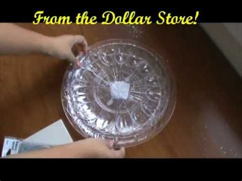 rotating cake stand diy rotating accessory stand
