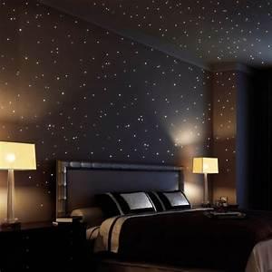 Leuchtsterne Für Kinderzimmer : wandtattoo himmel sternenhimmel ~ Michelbontemps.com Haus und Dekorationen
