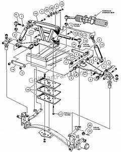 Wiring Diagram  29 Club Car Parts Diagram Front End