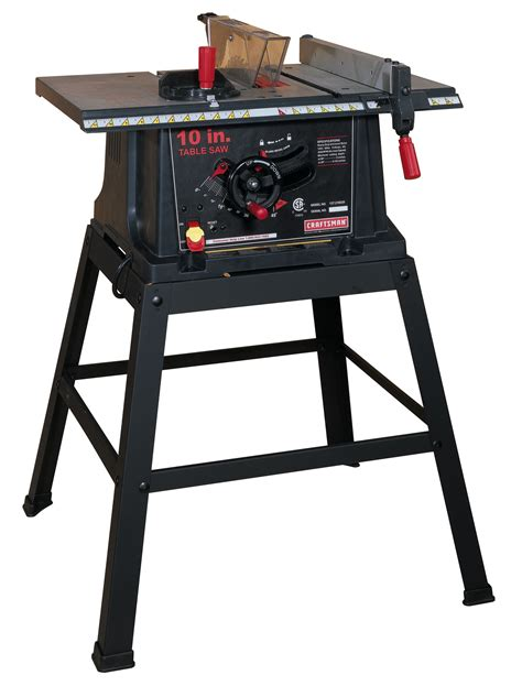 toolkraft 10 inch table saw craftsman 13 10 quot table saw with stand 21802 shop