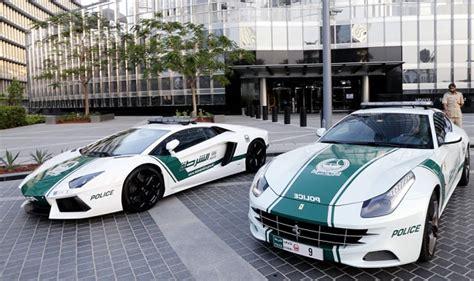 The Dubai Police Supercar Fleet Now Boasts A Bugatti Veyron