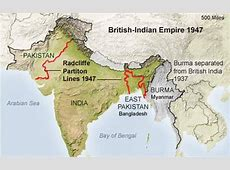 Radcliffe Line to divide IndiaPakistan was formed this