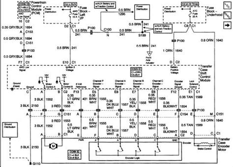 2002 Chevy Silverado 2500 Wiring Diagram by I Need A Wiring Harness Diagram For Transfer On A