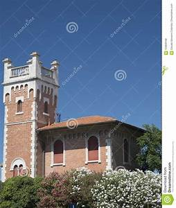 Porto Potenza Picena Marches  Italy  Old House Stock Image