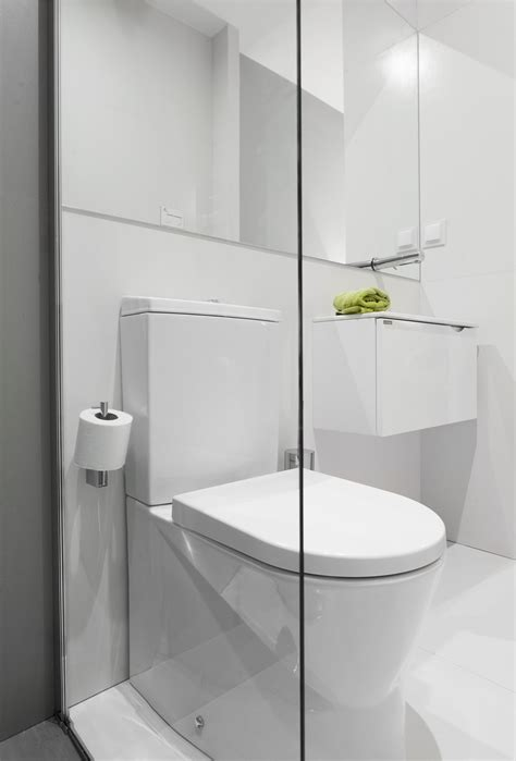 Narrow Bathroom With Sanindusa Products Small Toilet Size