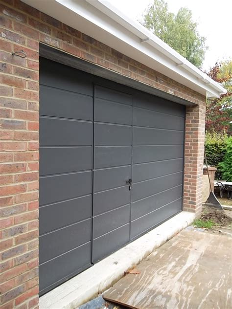 Garage Door by Hormann Sectional Garage Door Fitted In Camberley Surrey