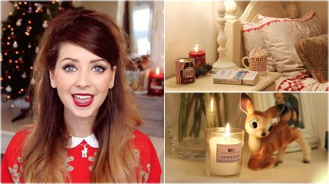 zoella hot chocolate christmas bedroom inspiration zoella youtube