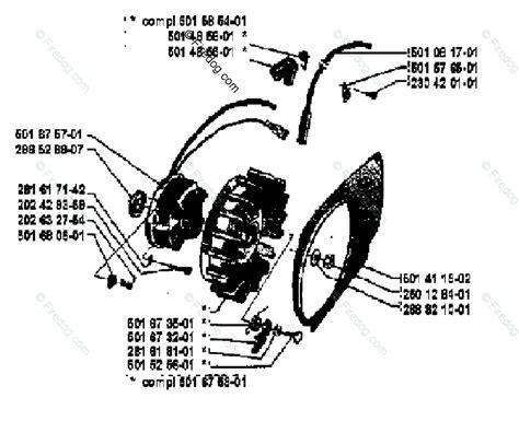 Husqvarna Chain Saw 2100 Cd (1979-12) Oem Parts Diagram
