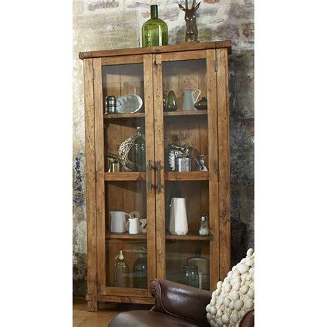 industrial rustic display cabinet lounge living