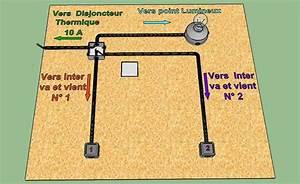 Les Va Et Vient : cablage va et vient srie plexo double allumage cbl partir ~ Dailycaller-alerts.com Idées de Décoration