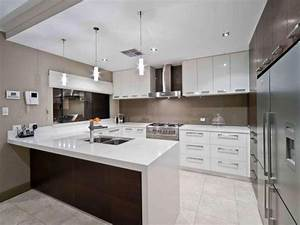 modern u shaped kitchen design using tiles kitchen photo With u shaped modern kitchen designs