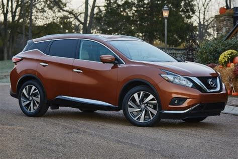 2015 Nissan Suv by 2015 Nissan Murano Suv Pricing Features Edmunds