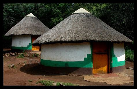 Xhosa Huts At The Lesedi Cultural Village The Xhosa