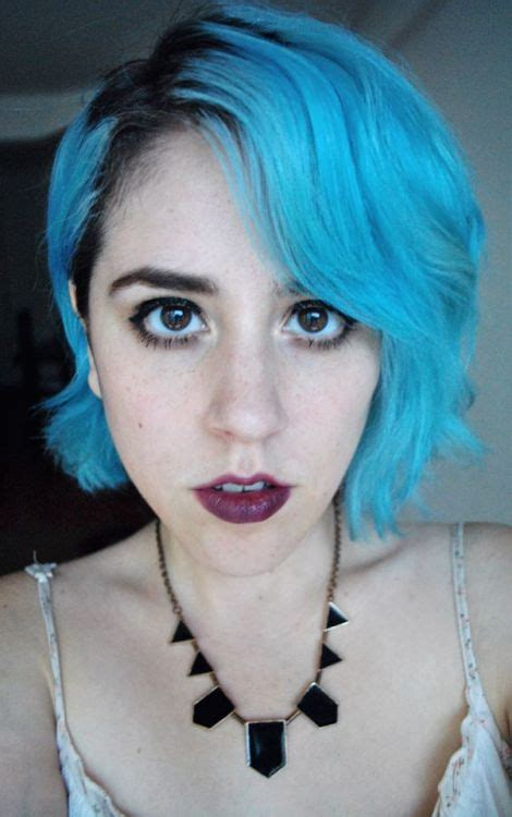 Hair With Blue by Blue Hair On