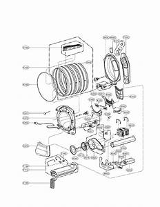 Lg Dryer Parts Diagram