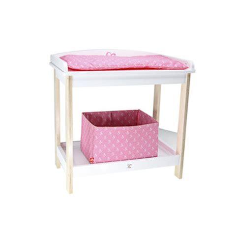 hape table langer jouet bois