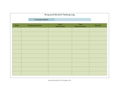 drug  alcohol testing company template